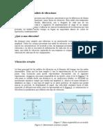 Sensores de Vibración e Instrumentación de Medida