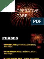operative Care