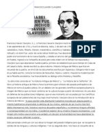 Biografía de Francisco Javier Clavijero