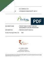 p363-Docz-hse-pp-5000 Rev a Project Risk Management Plan and Procedures