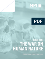 The War on Human Nature