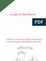 Design of Steel Beams