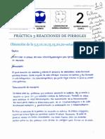 Práctica 3 Reacciones de Pirroles Sintesis de Octametilporfirina