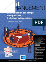 Travail & Changement 355 - La Conciliation Des Temps, Une Question à Plusieurs Dimensions - ANACT 2014