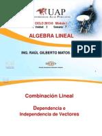 Ayuda 666 - 77777 Combinacion Lineal Vector Alu