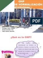 ONP (Oficina de Normalización Previsional)