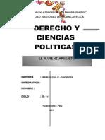 Trabajo de Contratos Derecho Civil.