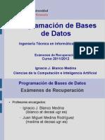 Presentacion Asigntura Programacion Bases de Datos Tipat