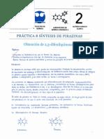 Práctica 8 Síntesis de Pirazinas