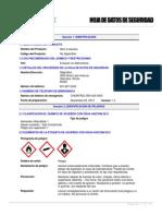 Msds Tintas Penetrantes - Limpiador Skc-s