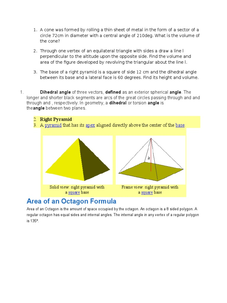 How To Find The Volume Of A Frustum From A Cone If