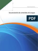 SECUENCIACIÓN DE CONTENIDOS DE LENGUA PAP