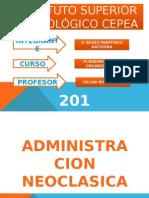 administracion neoclasica