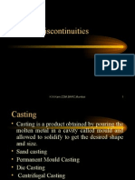 Casting and Forging Discontinuities