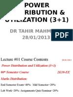 Power Distribution & Utilization
