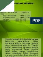 Vitamin Larut Lemak