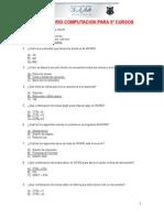 Cuestionario g e n e r a l Qss San José La Salle
