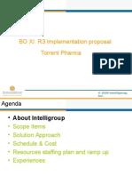 SAP BI BO Presentation