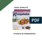 Cereal Komplete
