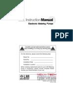 Dosing Pump (Lmi-metering Pump)
