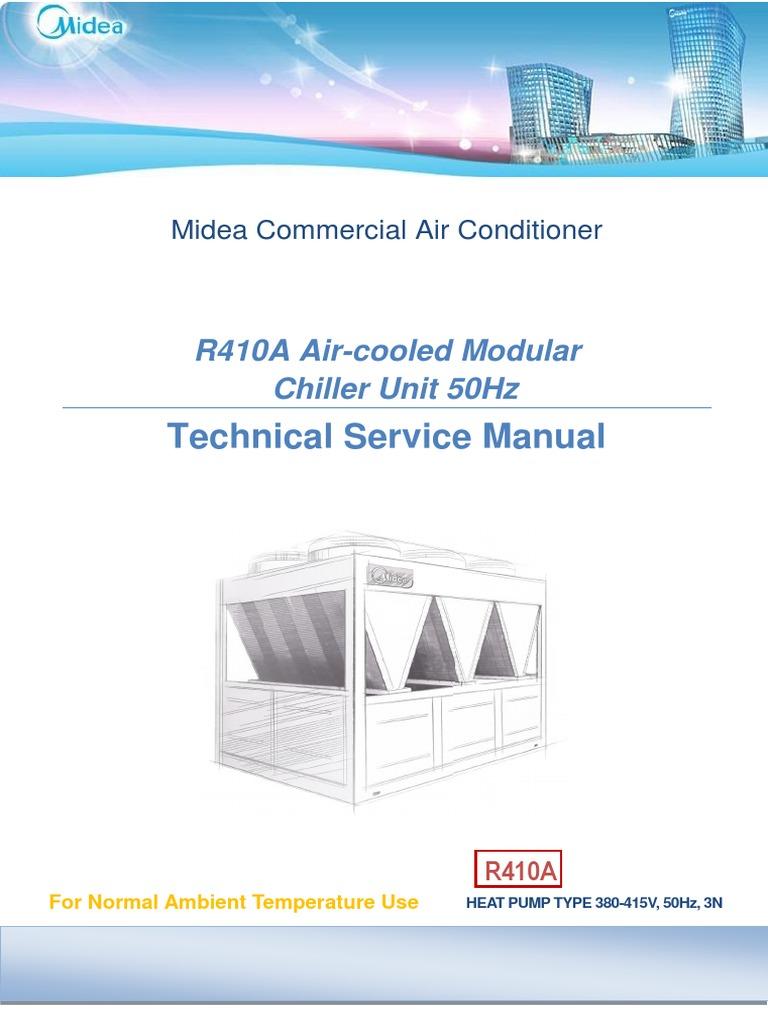 Chiller Midea Air Conditioning Heat Exchanger Conditioner Wiring Diagram