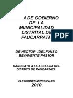 Plan de Gobierno Paucarpatra