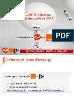 Sondage. L'UMP et l'élection présidentielle de 2017