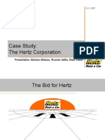 Case Study Hertz Corporation
