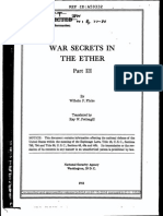 Flicke War Secrets in the Ether Vol3