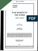 Flicke War Secrets in the Ether Vol1-2