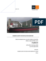 MV Tarsus_Final Safety Investigation Report