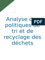 Les politiques de gestion des déchets.doc