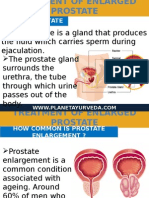 Ayurvedic Treatment of Enlarged Prostate Gland