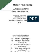 Psikologi Keperawatan (Pengantar Psikologi#1) [Compatibility Mode]