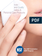 NSF Cosmetics Brochure