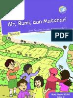Buku Siswa SD Kelas 2 Tema 6 Air Bumi Dan Matahari (2014)