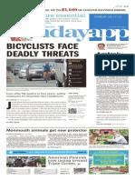 Asbury Park Press front page, Sunday, May 17, 2015