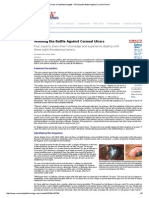 Ulkus kornea ; Review of Ophthalmology® _ Winning the Battle Against Corneal Ulcers
