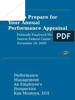How to Prepare for Your Annual Appraisal