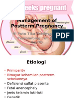 Management of Postterm Pregnancy