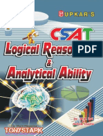CSAT - Logical Reasoning & Analytical Ability by Dr. M.B.Lal & Ashok Gupta ~Stark