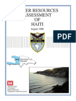 Acoe Water Resources of Haiti