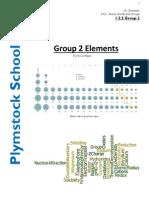 Group II Elements Handout