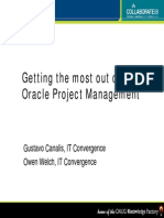 Oracle Project Management