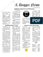 Pilcrow and Dagger Sunday News 5-17-2015
