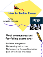 How to Tackle Exams(1)