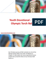 Youth Devotional - The Olympic Torch Relay