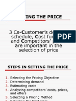 Lec9-Setting the Price