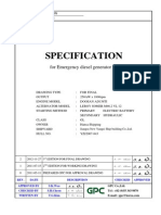 Specification for YZJ2007-843
