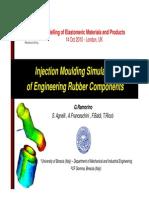 Injection molding simulation